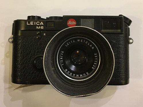 LEICA M6 body+35mm2.8F