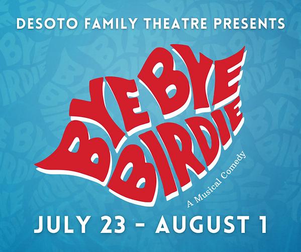 Bye Bye Birdie Show Announcement Graphic