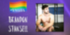 Brandon Stansell Promo Image Being LGBTQ