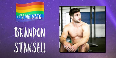 Brandon Stansell Promo Image Being LGBTQ