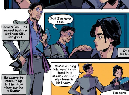 New Batman graphic novel features Alfred as Bruce Wayne's gay uncle