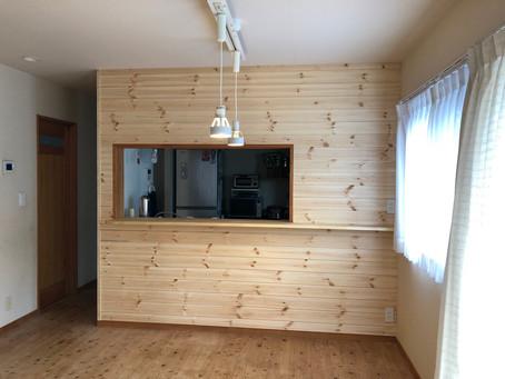 キッチン壁リフォーム