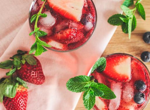 Berry Tequila Smash