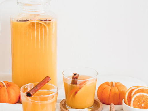 Honey + Pumpkin Punch