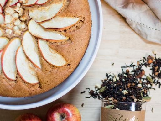 Chai Spiced Apple Cake (Gluten Free)
