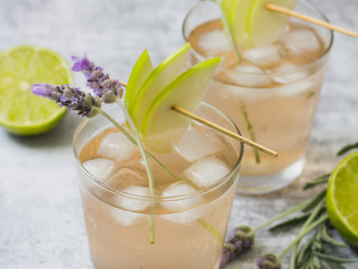 Lavender + Apple Cider Cocktail