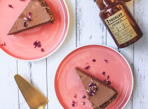 Chocolate + Chai Tart