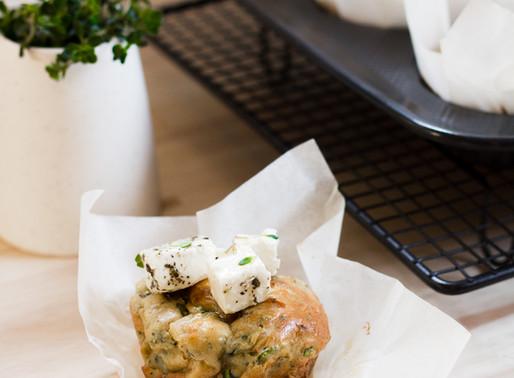 Zucchini + Feta Muffins