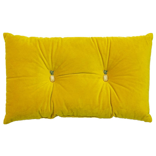 YELLOW PINEAPPLE CUSHION