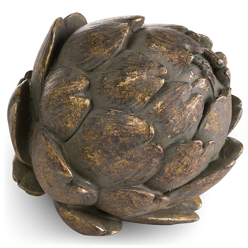 LARGE BRONZE ANTIQUE ARTICHOKE