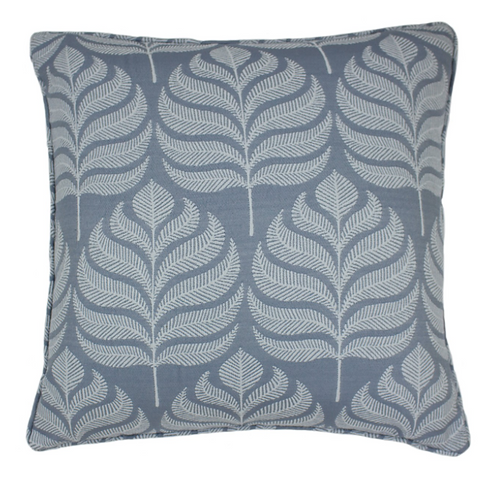 BLUE LEAF CUSHION