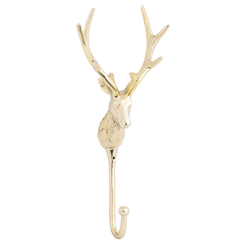 LARGE STAG WALL HOOK