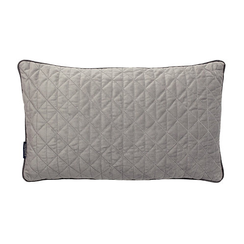 DOVE GREY TEXTURED CUSHION COVER