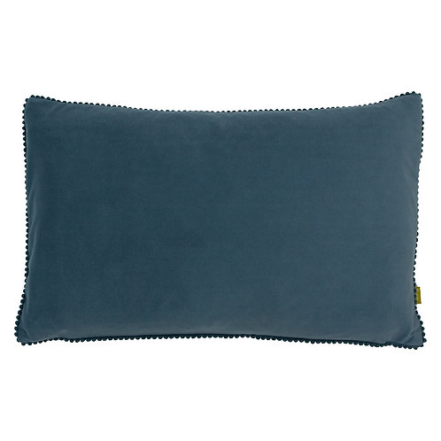 BLUE COSMO FEATHER CUSHION
