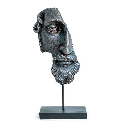 ANCIENT GREEK FACE SCULPTURE