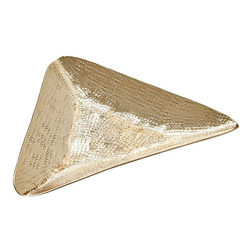 GOLD TRIANGLE TRINKET DISH