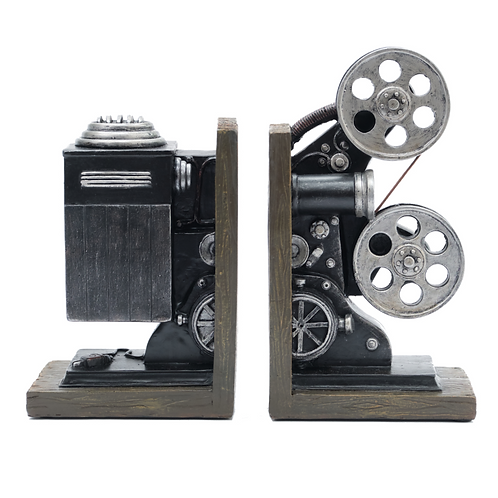 PROJECTOR BOOKENDS
