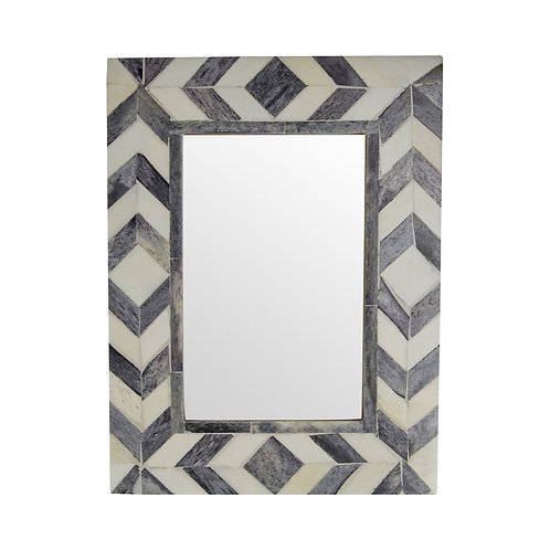 "GREY AND IVORY ARROW PHOTO FRAME - 4""X6"""