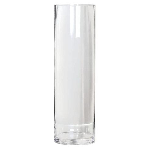 GLASS CYCLINDER VASE 40cm