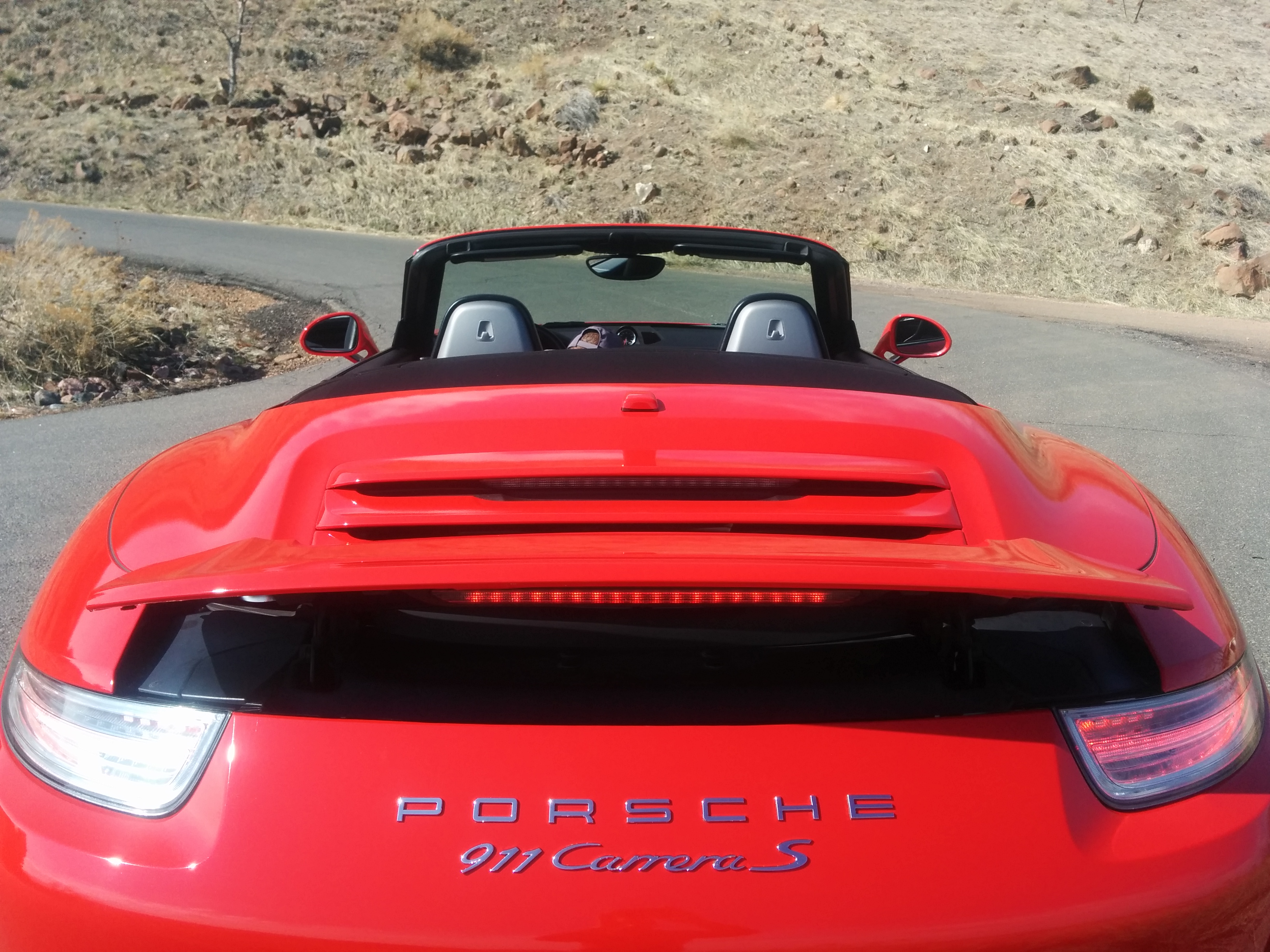 Porsche Carrera S Spoiler