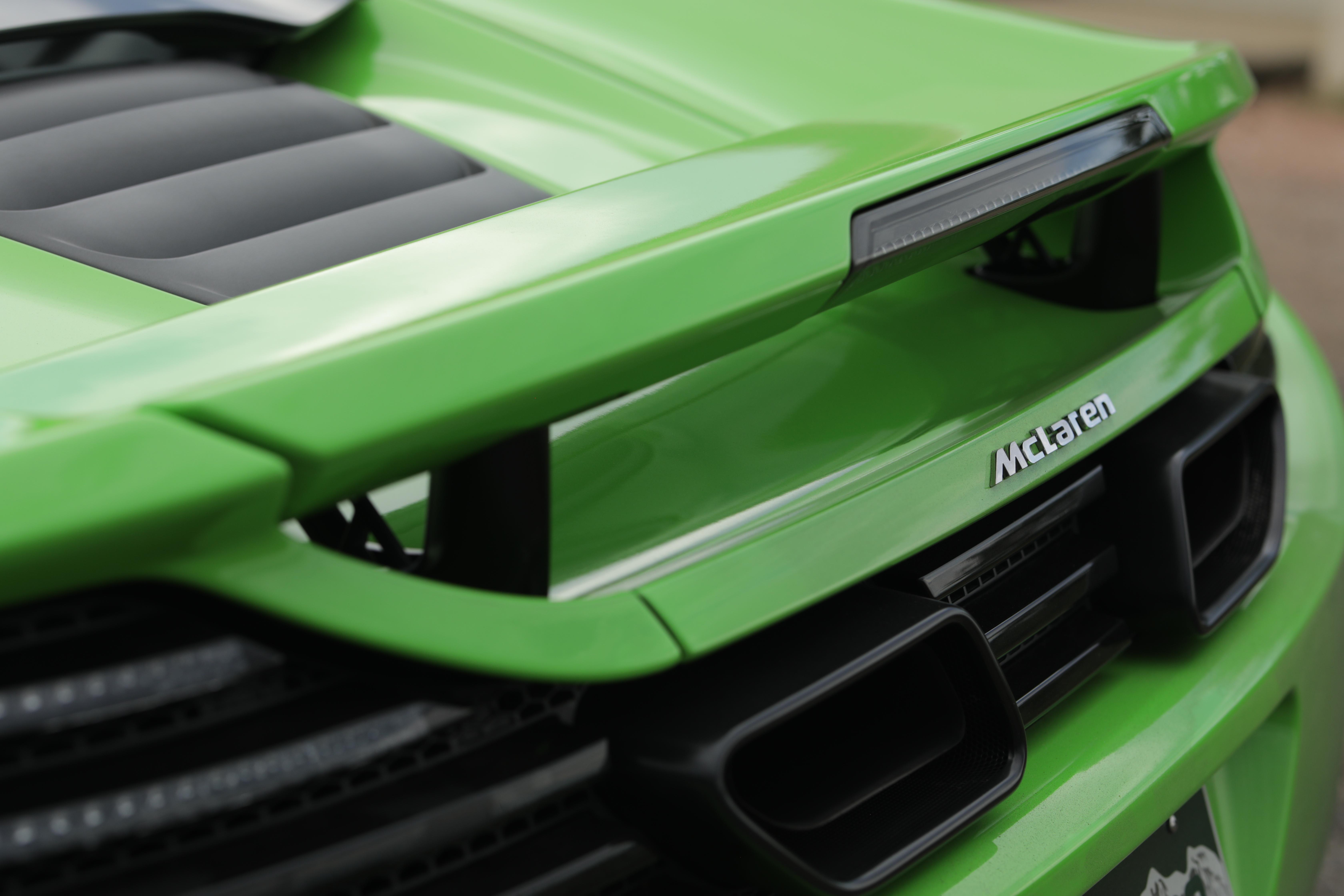 McLaren Exhaust