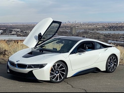 BMW i8 Side Profile