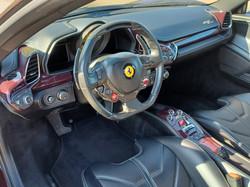 Ferrari 458 Bespoke Interior