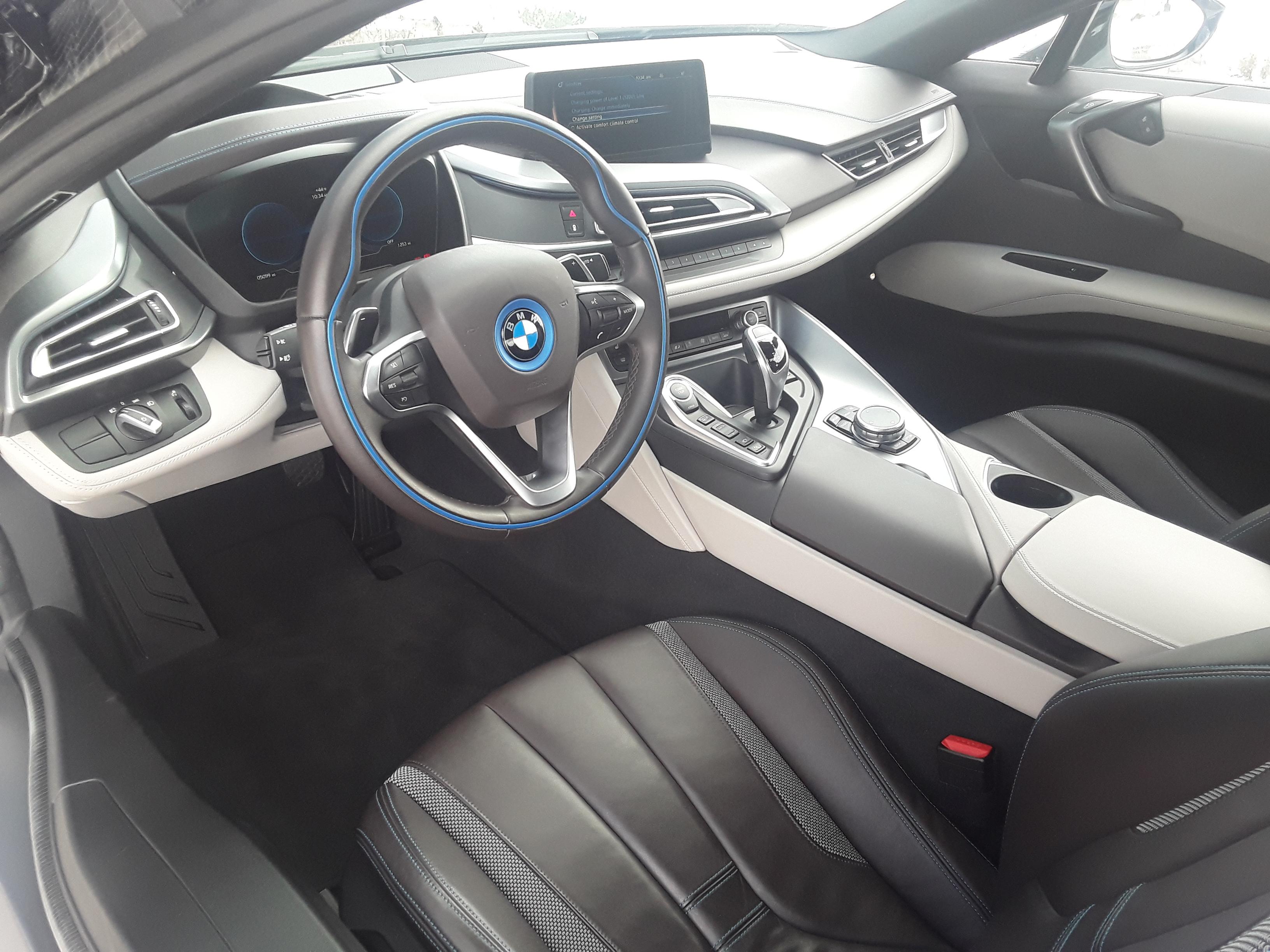 BMW i8 Interior Daytime