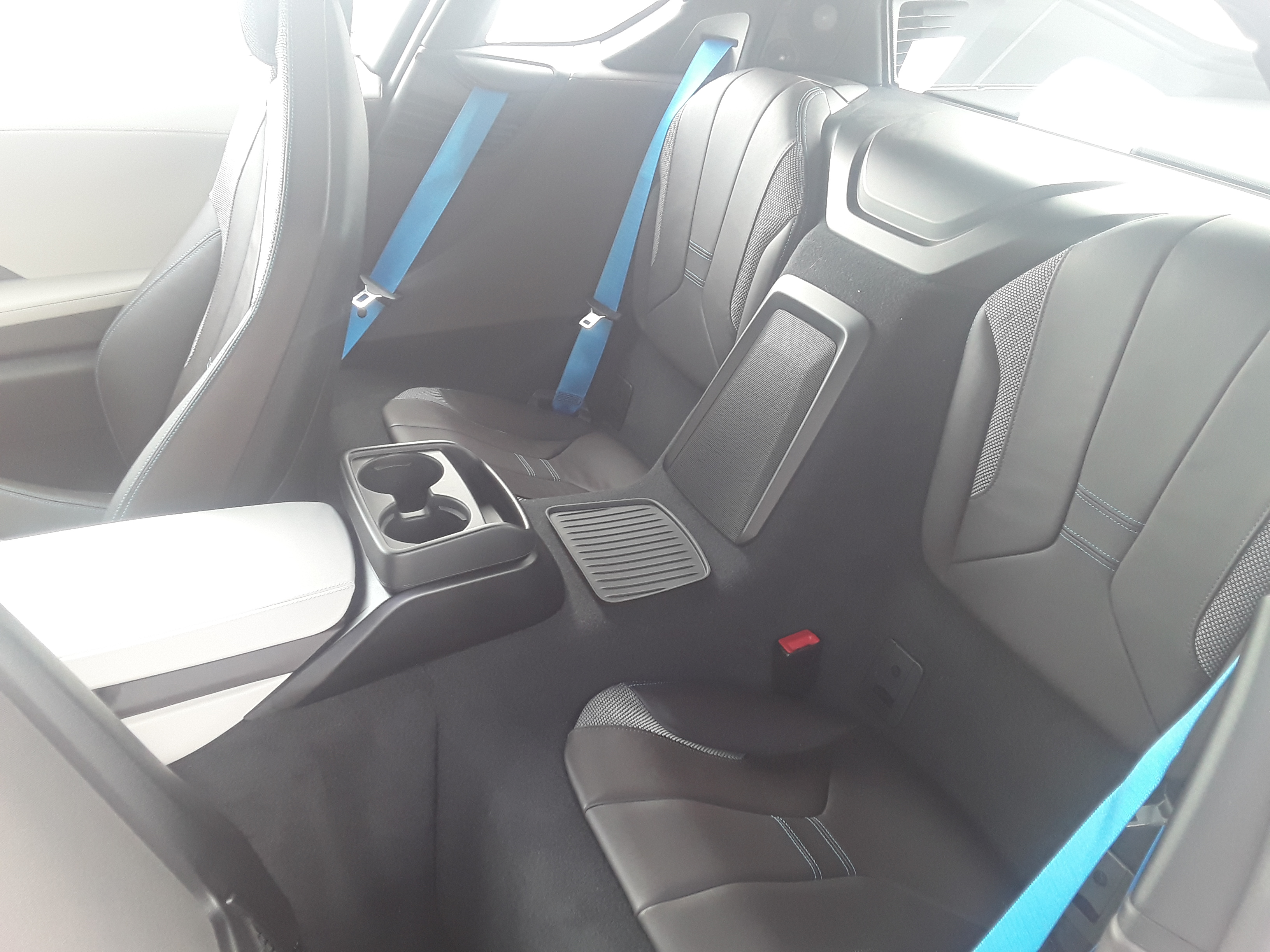 BMW i8 Backseats