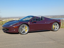 Ferrari Spider Convertible