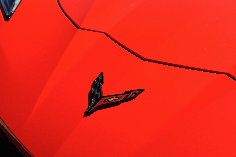 Corvette C8 Logo