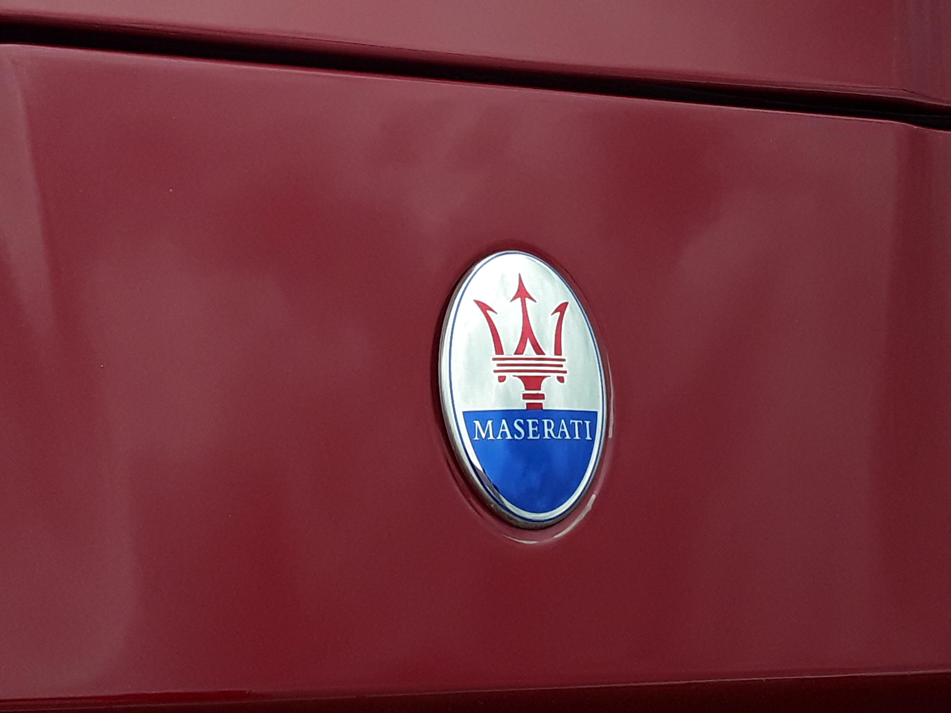 Maserati Hood