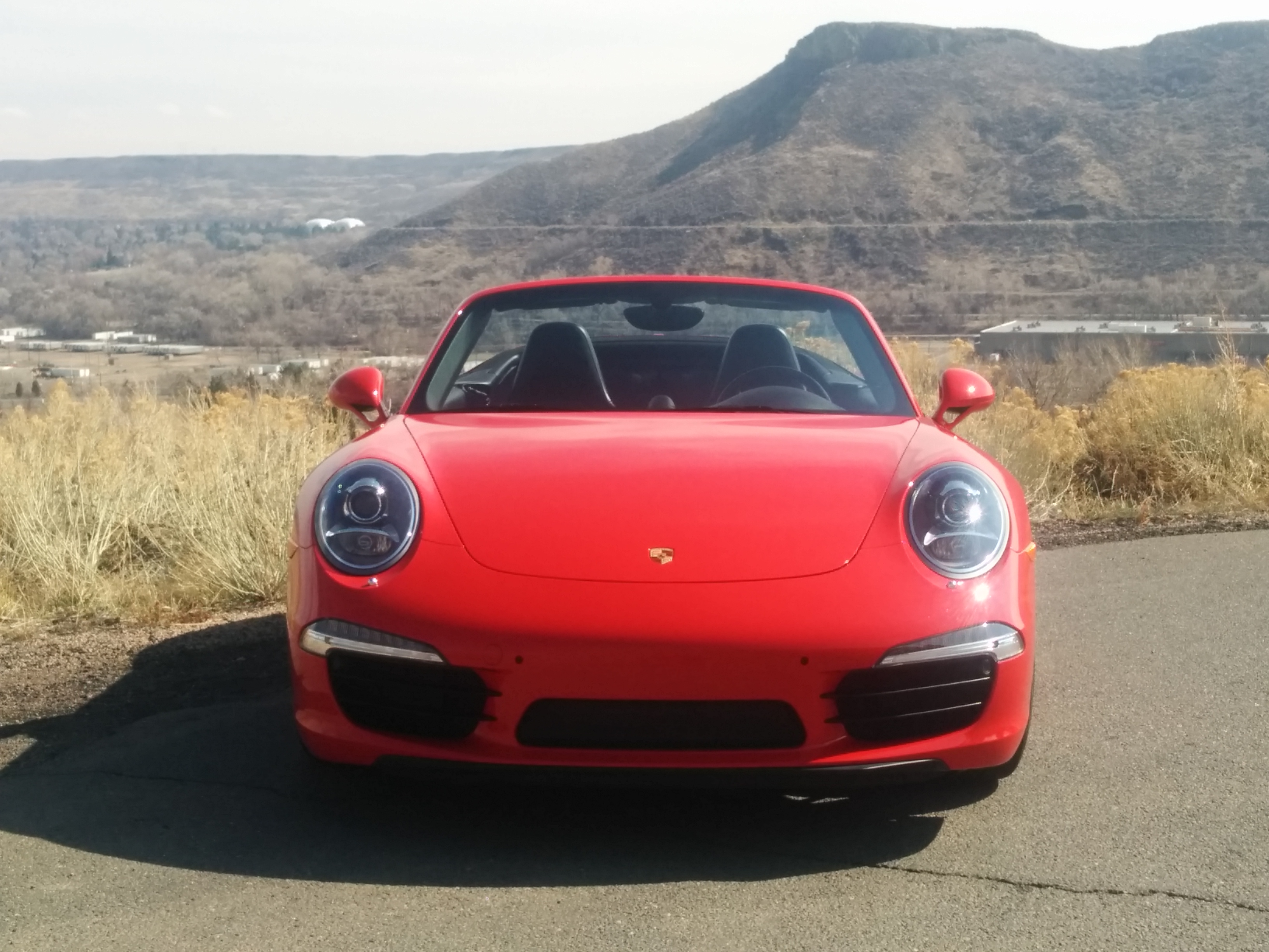 """Porsche Front """"Smile"""""""