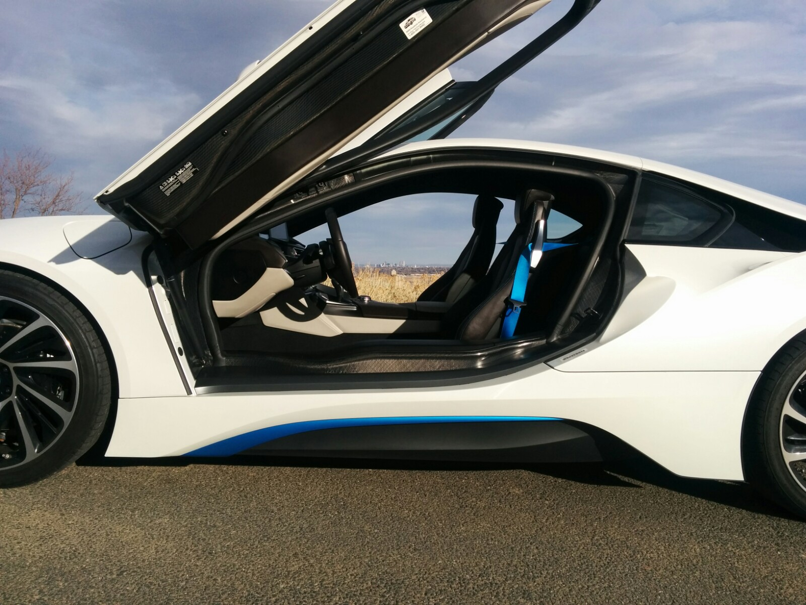 BMW i8 See Through