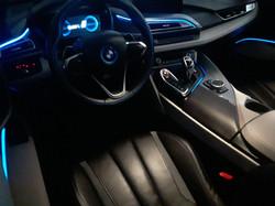 BMW i8 Interior Glow