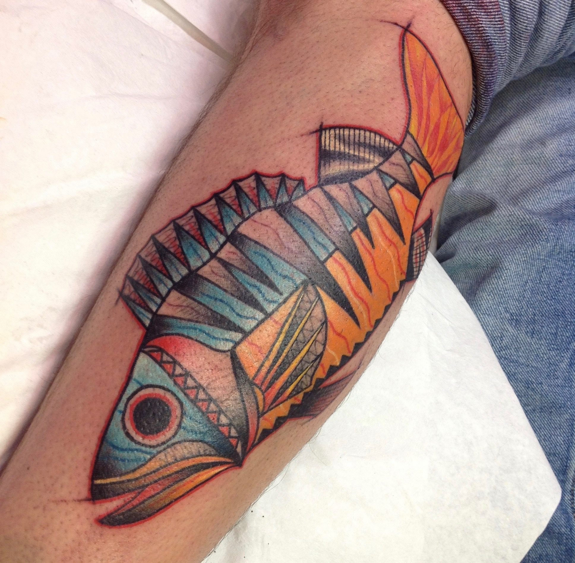 Perch tattoo
