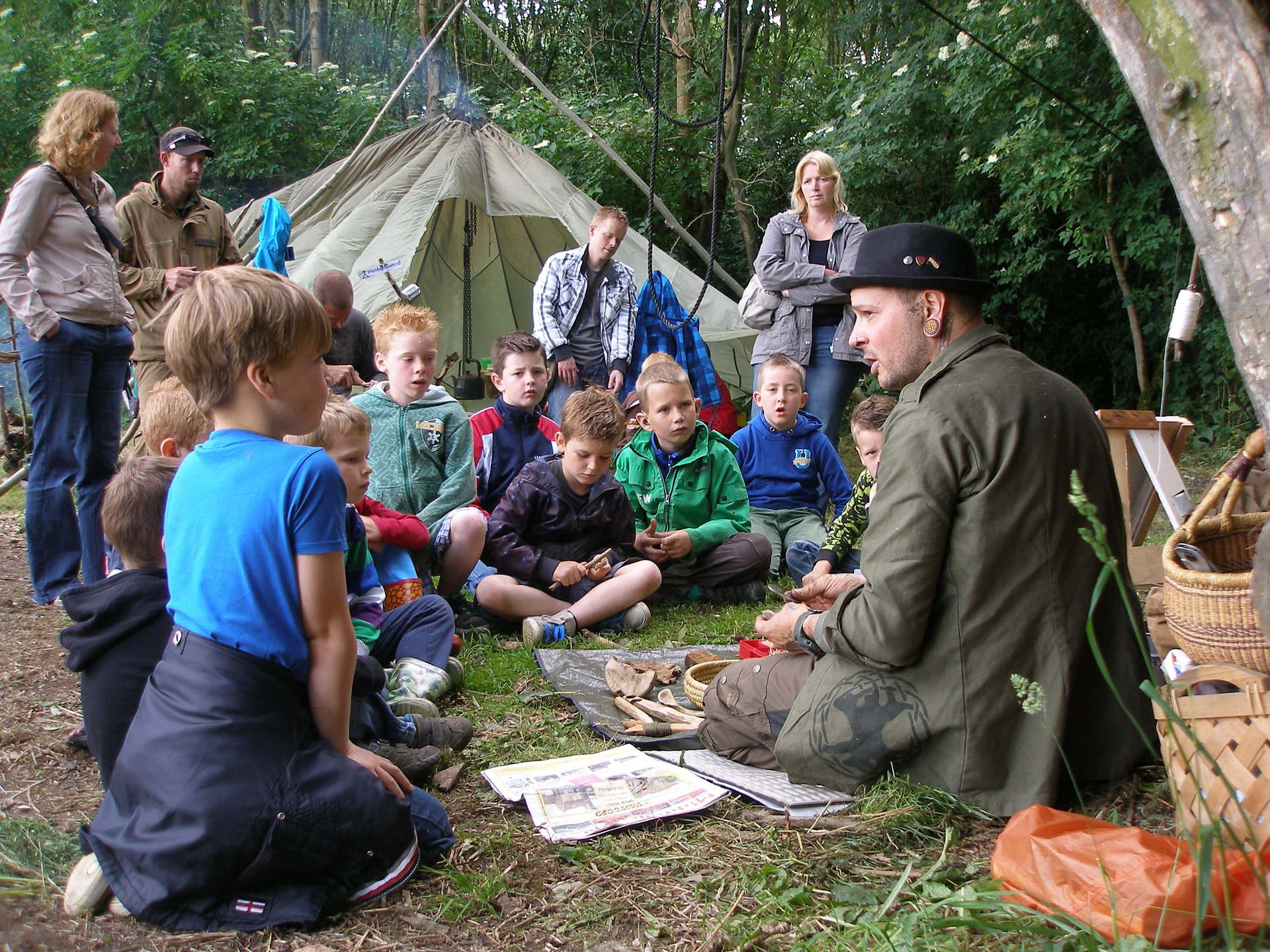 Workshop Bushcraft voor kinderen
