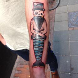 Mairman tattoo
