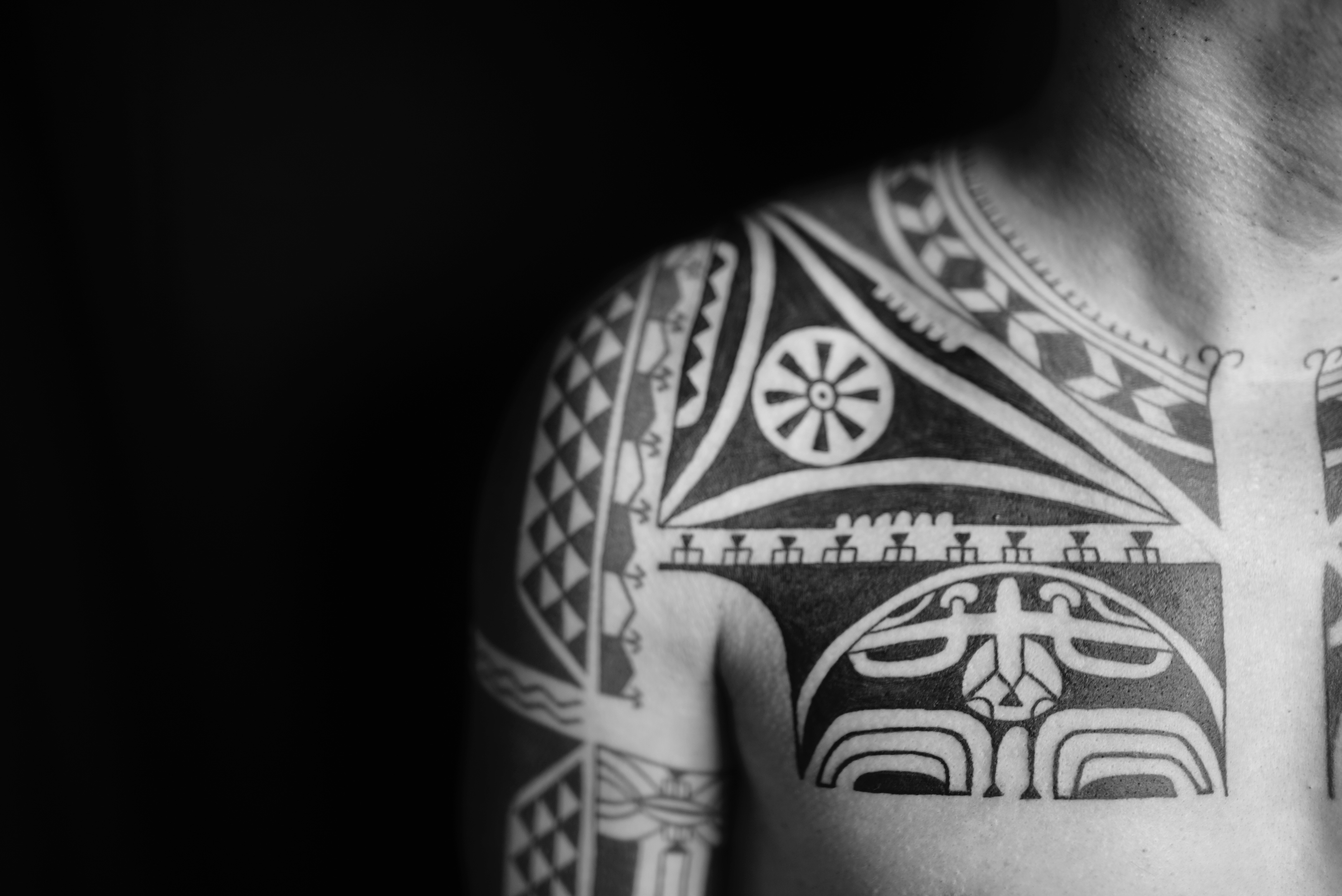 Marquesan tattoo