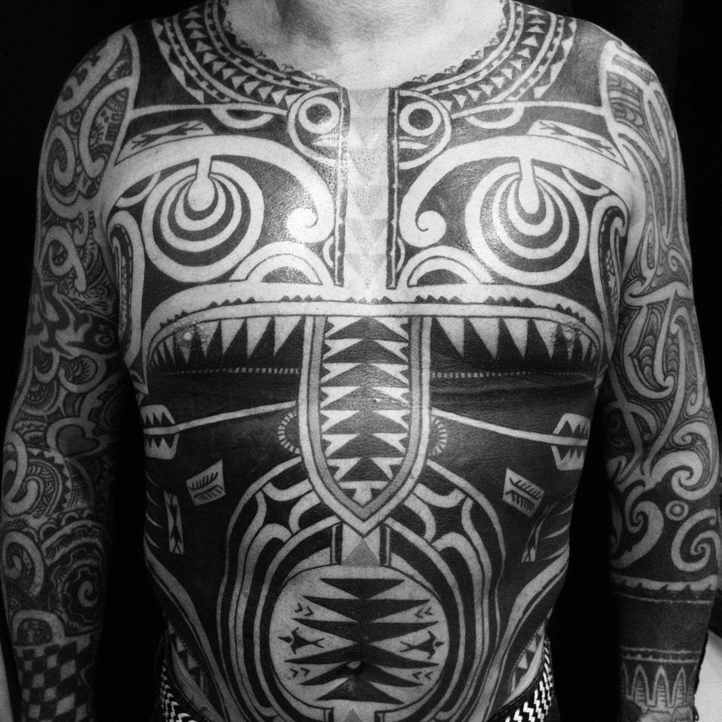 Marquesan mix chestpiece