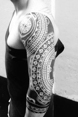 Samoan/Marquesan sleeve