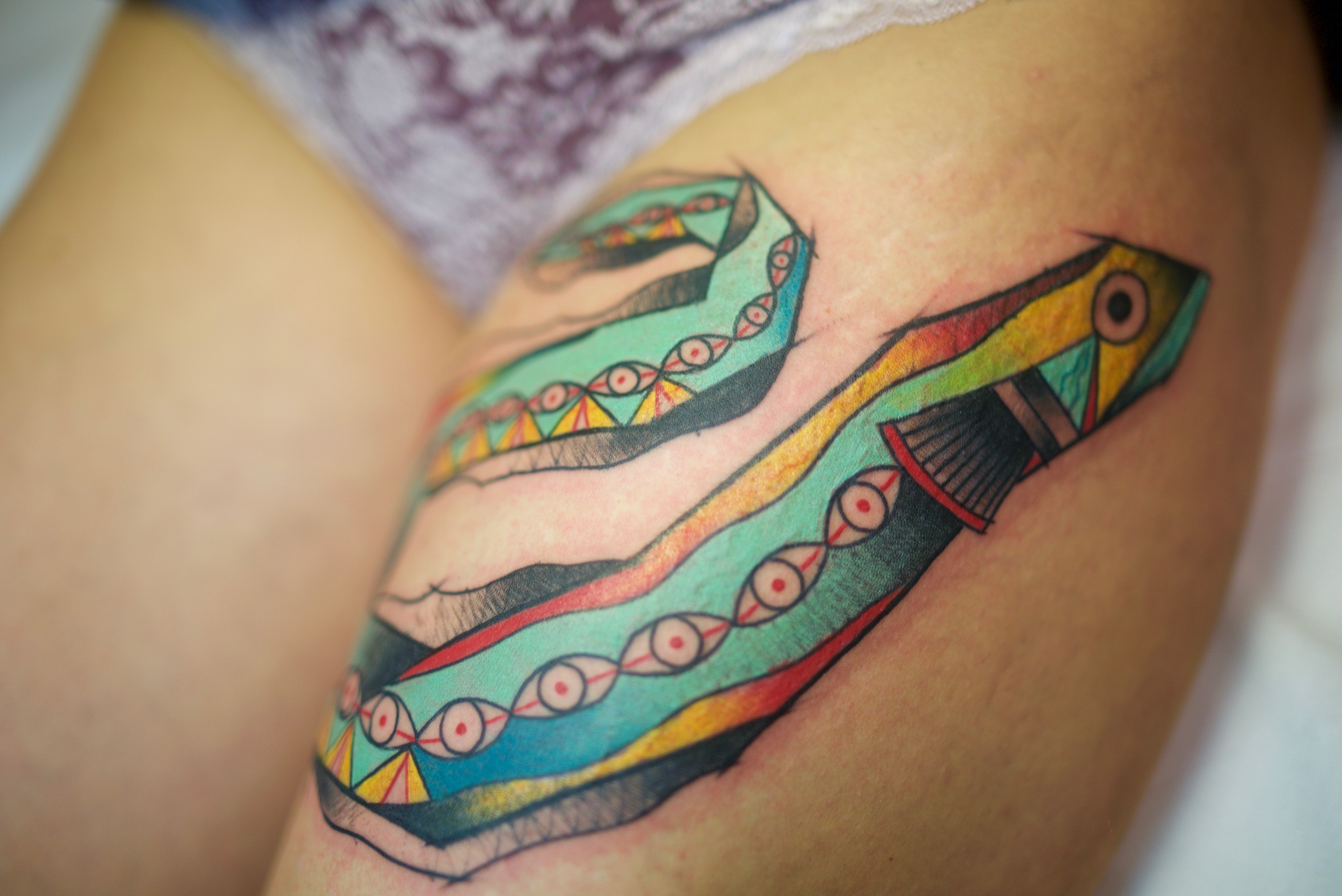 Eel tattoo