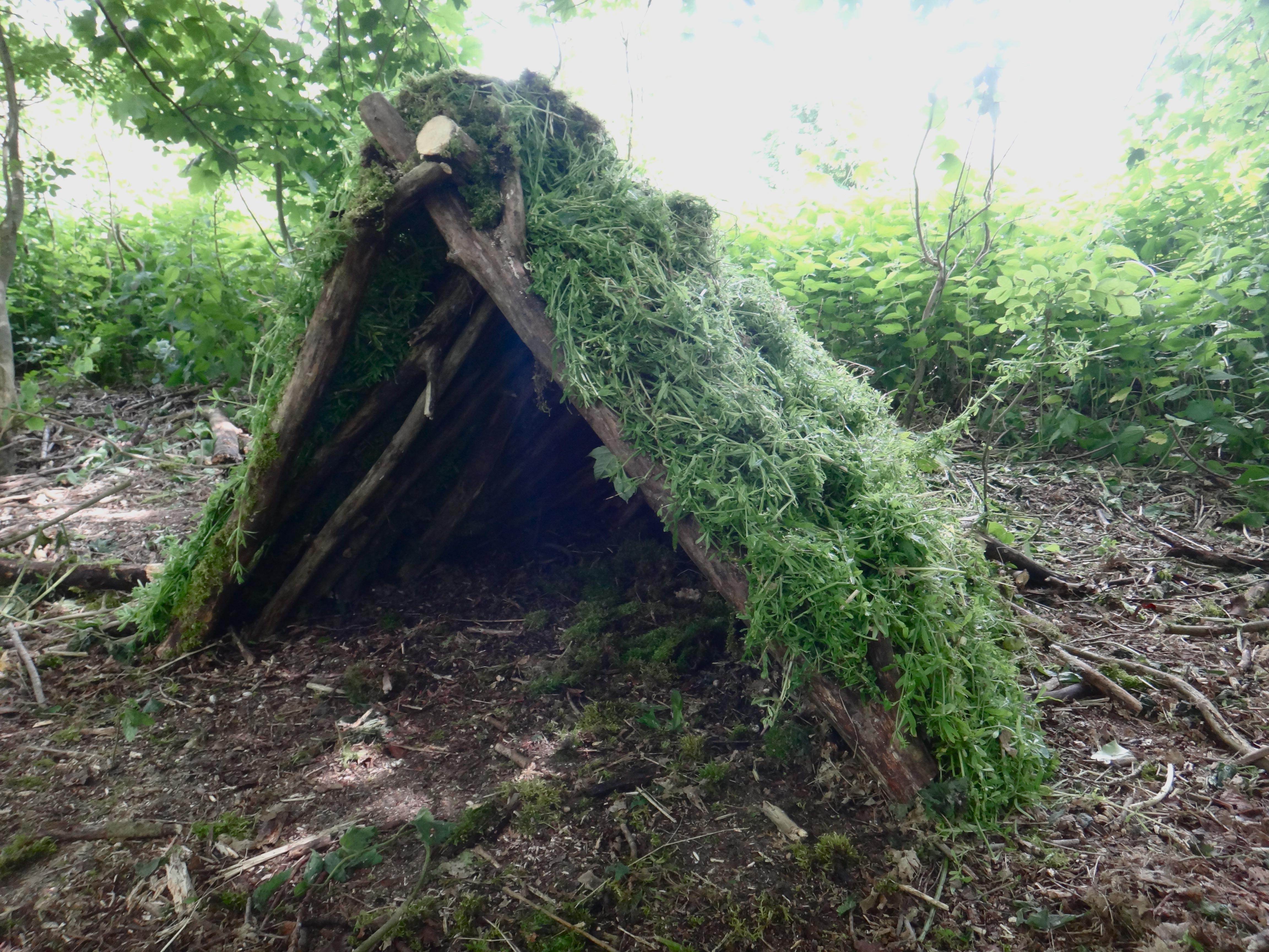 A frame shelter