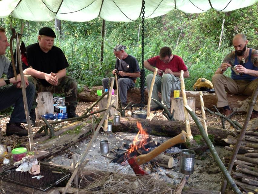 Bushcraft intro cursus