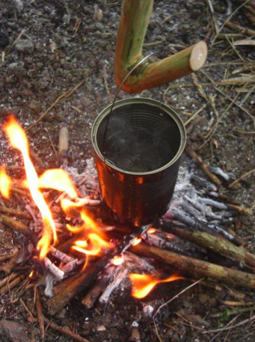 Bushcraft basis cursus