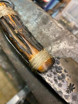 Celtic ring knife
