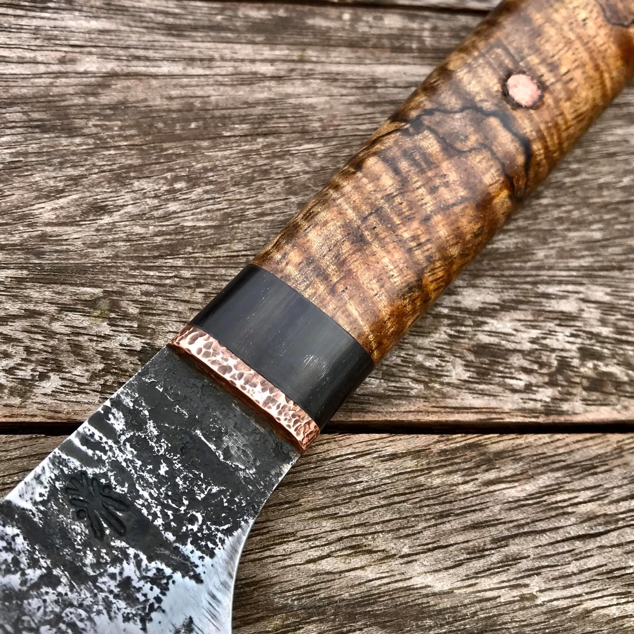 Koa Horn Red copper