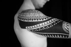 Marquesan sleeve