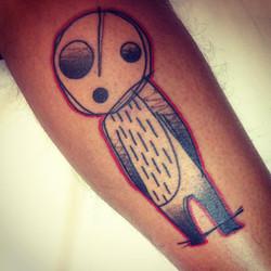 Japanese ghost tattoo
