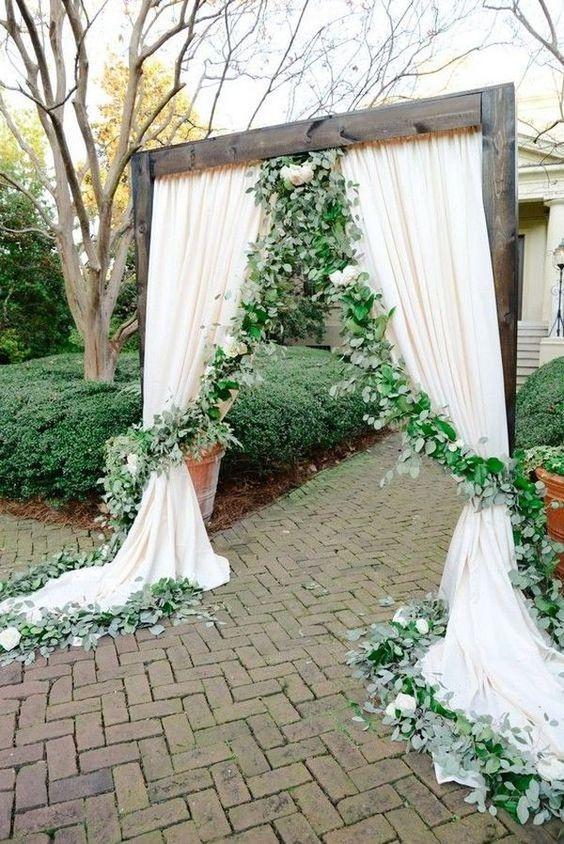 Greenery esküvői stílus